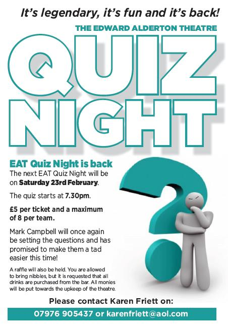 Quiz Night - 23 February 2013